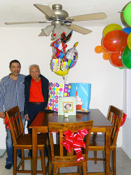 Baba's 88th Birthday.