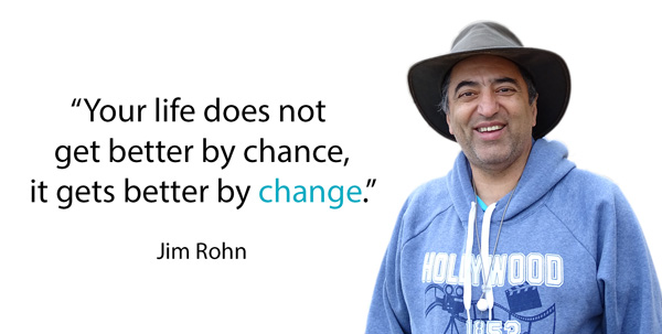 Change quote by Jim Rohn.